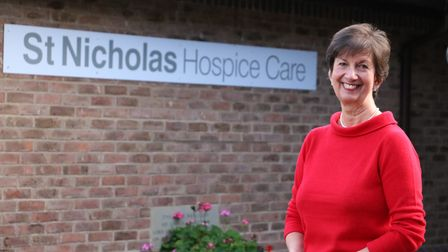 Dr Barbara Gale, chief executive of St Nicholas Hospice Care, awarded an MBE in recognition of her s
