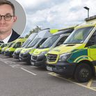 Tom Abell (inset) has been appointed chief executive of the East of England Ambulance Service