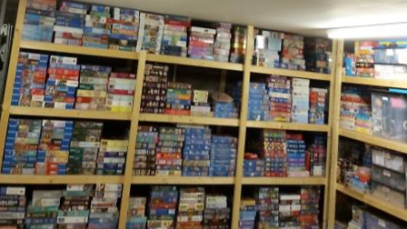 Pearl's Puzzle Library and loaning service has raised £2,000 for Ely Foodbank