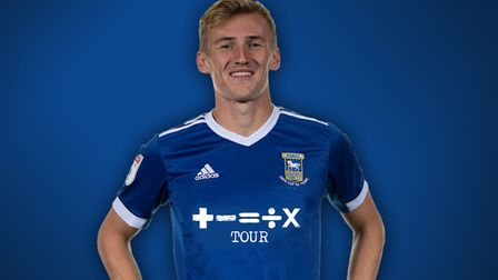 How Ipswich Town's current shirt would look with the new Ed Sheeran sponsorship logo