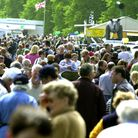 SOUTH SUFFOLK SHOW 2002 Crowds flock to the Ampton Racecourse for the South Suffolk Show PICTU