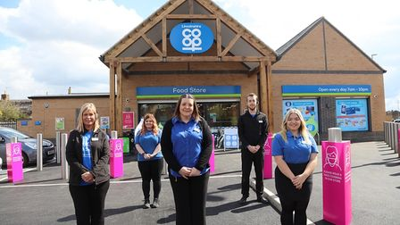 A new £1.5million Co-op store opened its doorsat West End inWhittlesey on April 29, creating 12 jobs for thecommunity.