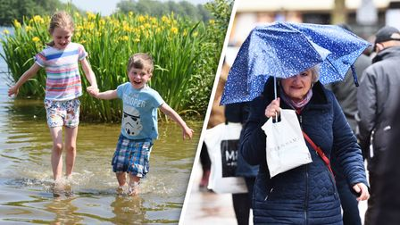 Norfolk's weather in May has been far wetter than last year, when there was glorious sunshine