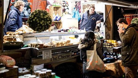 Welcoming sight as food fest and farmers' market make a comeback after lockdown