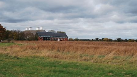 Snape Maltings from a distance