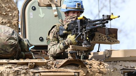 The second UK Taskforce to deploy to the United Nations Peacekeeping Operation in Mali is undertak