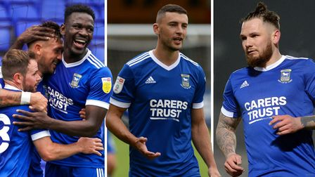 Who will win the Ipswich Town player-of-the-year award?