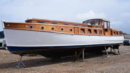 TheQueen of Light Broads cruiser, made in 1932