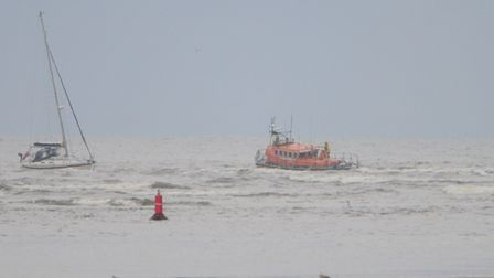 the boat had picked up a piece of rope, which had become entangled around their propeller, causing the power cut.