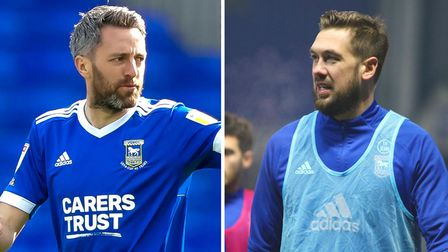 Cole Skuse and Luke Chambers are out of contract at Ipswich in just a few weeks