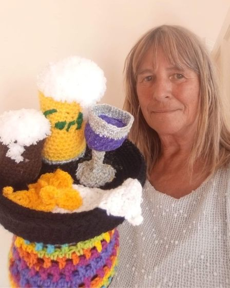 Doris Long has been creating items to aid her mental health