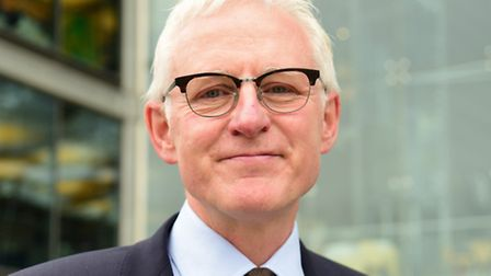 North Norfolk MP Norman Lamb at the Forum in Norwich. Picture: DENISE BRADLEY