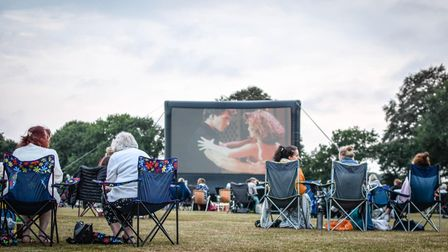 Open Air Screen is back for summer 2021