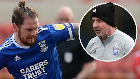 Paul Cook has given James Norwood the Ipswich Town captaincy for the last two games