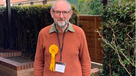 Lib Dem newcomer Piers Coutts was elected for Ely South division, winning 1,763 votes - a 45.64% majority.
