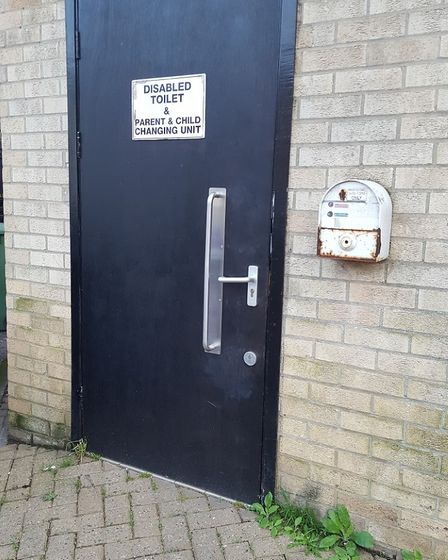 Sudbury toilets at Gaol Lane in the town centre