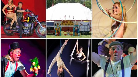 Circus Ginnett is back in town and is running a Covid-safe show inside the big top