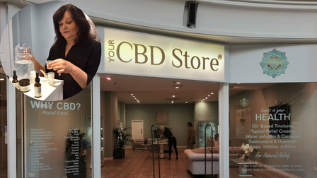 Staff at CBD stores in Norwich say demand is on the rise once again