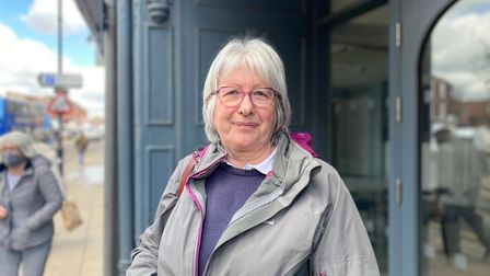 Yvonne Goillau, 61, who also lives in Dereham and works as an accountant