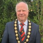 Great Dunmow Town Council mayor Patrick Lavelle