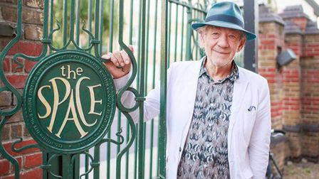 Wizard of the big screen Sir Ian McKellen... kept theatre going during Lockdown with histouch of magic.