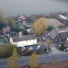 Suffolk Barns is up for sale off the A140 near Mendlesham