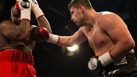 Sam Sexton returns to the boxing ring in Norwich on Friday night. Photo: Jerry Daws/ Stillfocused.co