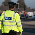 The motorbike rider was hospitalised with serious injuries after the crash near Braintree