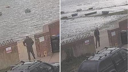 Police want to speak with this person in connection with a string of indecent exposure incidents in Manningtree