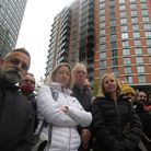 Angry neighbours after the blazeat New Providence Wharf and fighting 4 years to remove dangerous cladding