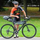 Ollie Blackmore, a Norwich-based endurance cyclist who cycling across Japan completely on his own -