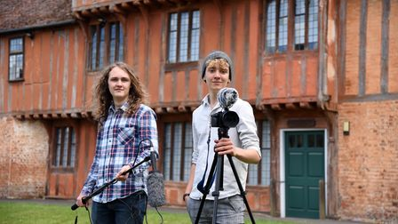 College students Harrison Drane and Alfie Cutts are in the process of directing, producing and writing their own film
