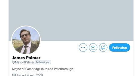 The last post - James Palmer ready to delete his Twitter account