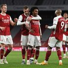 An Arsenal shirt signed by this season's squad was stolen from the business in Haverhill