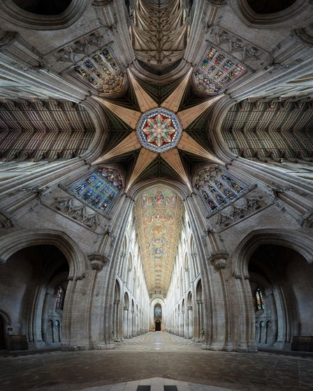 Ely-Cathedral-nave-lantern-tower-octagon