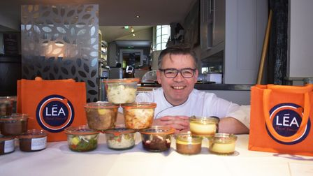 Pascalwith the takeaway Leapots launched during lockdown