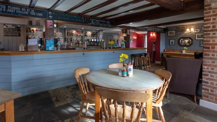 Inside of The Plough, which will be reopening next week