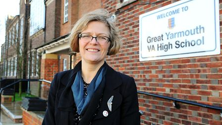 Wendy Missons, former headteacher at Great Yarmouth High School. Picture: James Bass