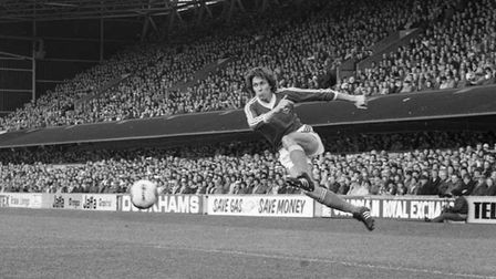Arnold Muhren joined Town from FC Twente to become the club's first overseas signing in August 1978