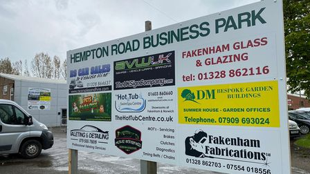 Hempton Road Business Park in Fakenham now has all their retail units in use.