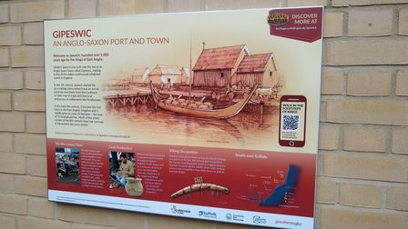 Signs retelling the history have been installed at nearby railway stations