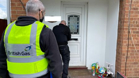 Police from March and Wisbech helped British Gas enter this property in Westry where a Class B drug factory was found.