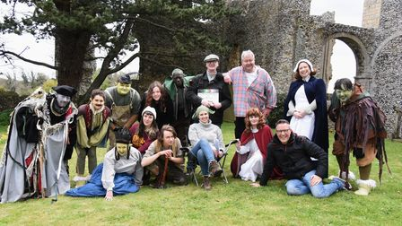 The cast and crew of The Princess and the Goblin