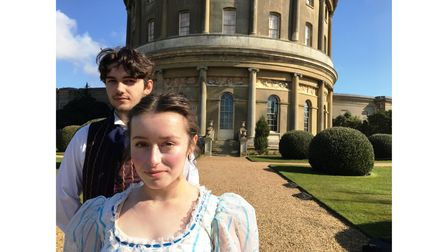 Harry Ferguson and Nell Hammond will star inan outdoor production of Emma at Ickworth