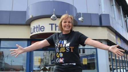 Sheringham Little Theatre is one of the Norfolk venues reopening.