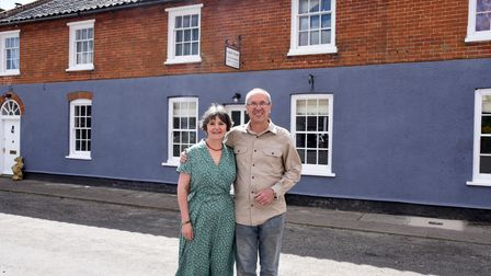 Kate and Oliver Trethewey are opening a new bed and breakfast in Westleton