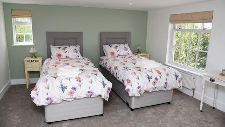 Bedrooms have been fitted out ahead of the opening on May 21