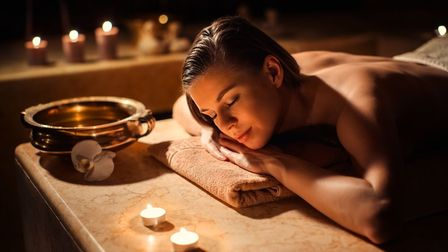 A Hammam massage - one of the treatments available at Stoke by Nayland's Peake Spa