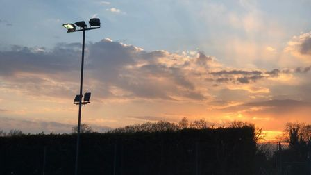 The flood lights are nearly 30-years-old so the club is fundraising to replace them