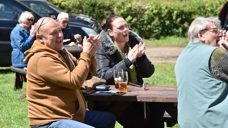 The Locks Inn near Geldeston opens as a community pub after going up for auction last year. The pub